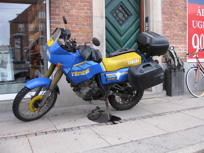 XT600Z kædehavari - Valby